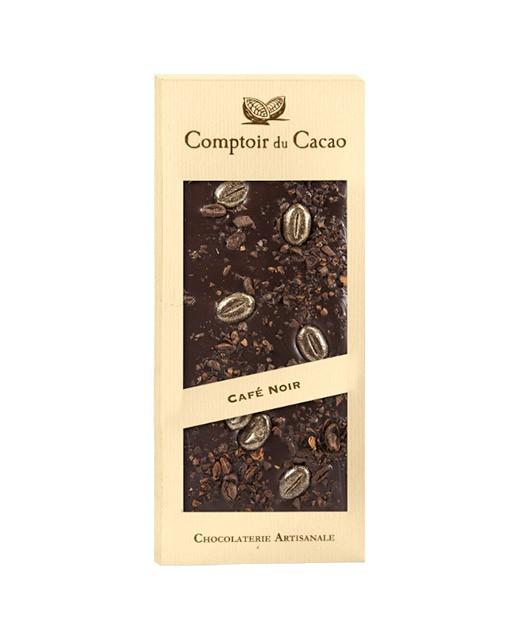 Tavoletta di cioccolato fondente - caffè - Comptoir du Cacao