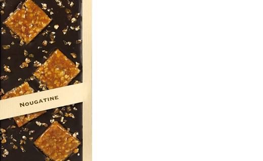Tavoletta di cioccolato fondente - nougatine - Comptoir du Cacao