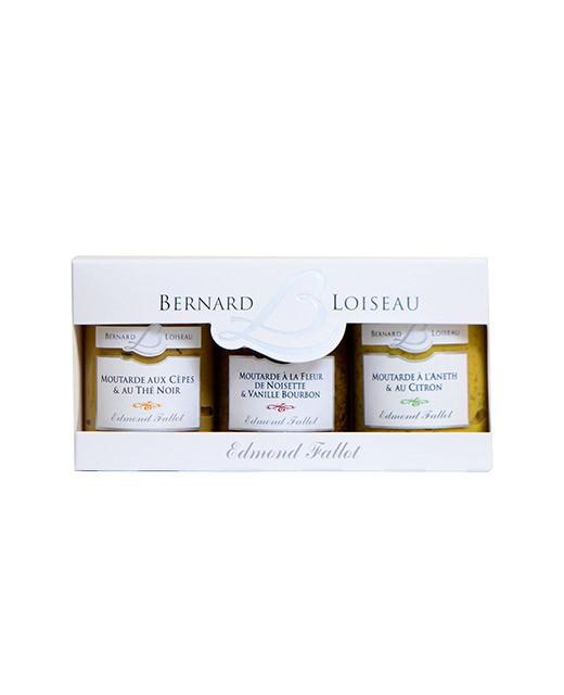 Set 3 senapi Bernard Loiseau - Fallot