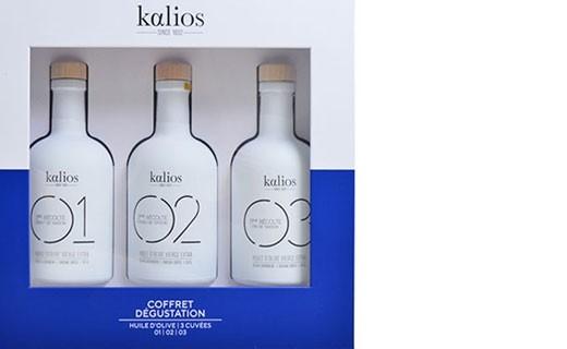 Cofanetto Dégustation - olii degli chef  - Kalios