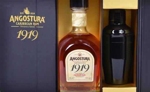 Cofanetto rum Angostura 1919 con il suo shaker - Angostura