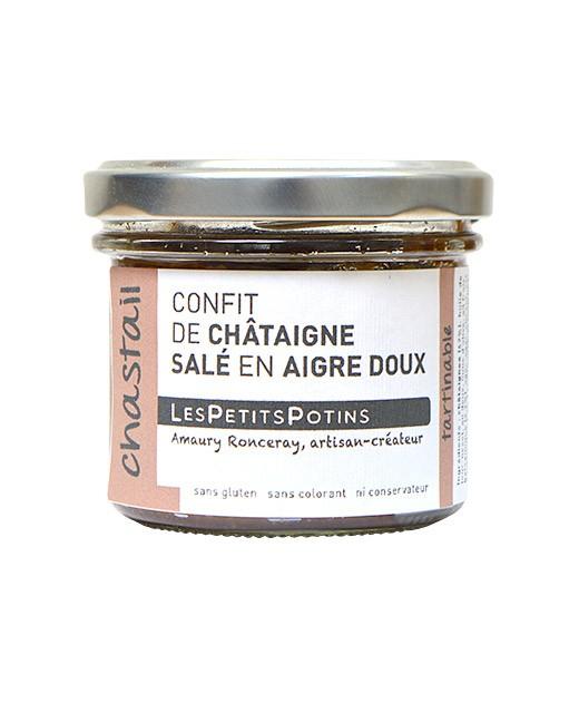 Confit di castagne in agrodolce - Les Petits Potins