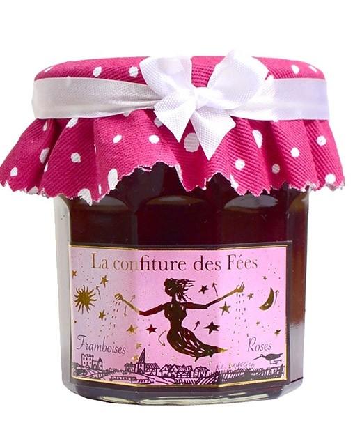 Marmellata delle fate - lamponi alla rosa