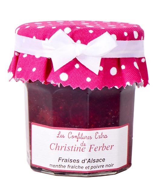 Confettura di fragole alla menta fresca e al pepe nero - Christine Ferber