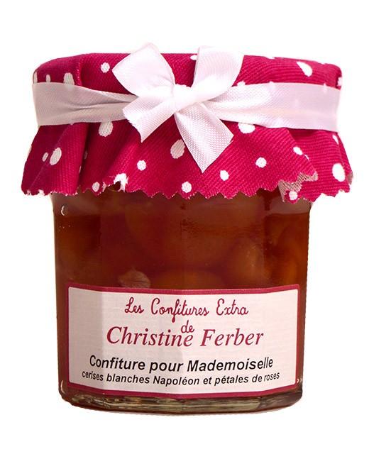"""Confettura """"pour Mademoiselle"""" alle ciliegie bianche e alla rosa - Christine Ferber"""