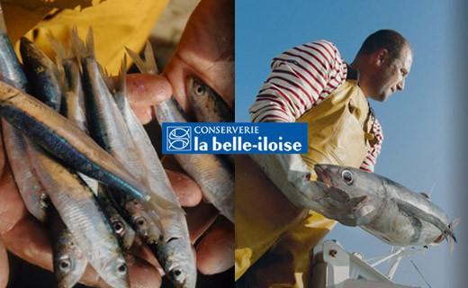 Sardine all'olio di arachidi e limone - La Belle-Iloise