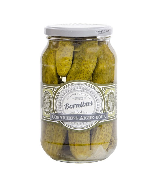 Cetrioli in agro dolce - Bornibus