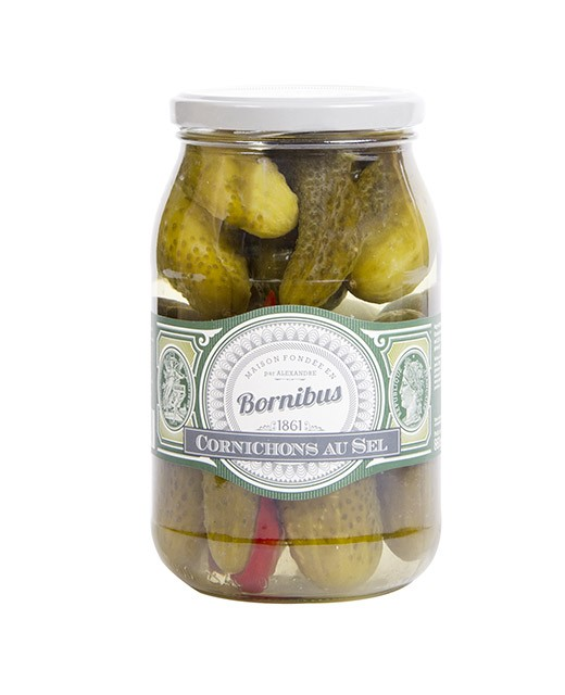 Cetrioli  salati - Bornibus