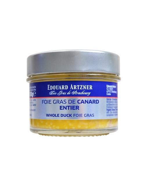 Foie gras di anatra intero 100 g - vasetto - Edouard Artzner