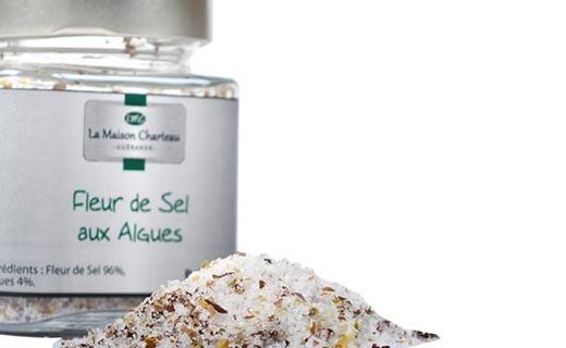 Fior di sale di Francia alle alghe - Maison Charteau