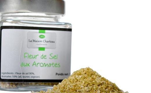 Fior di sale di Francia agli aromi - Maison Charteau