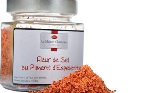 Fior di sale di Francia al peperoncino di Espelette - Maison Charteau