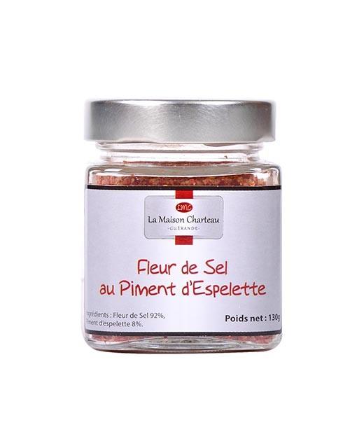 Fior di sale di Francia al peperoncino di Espelette