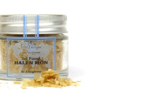 Fiocchi di sale marino affumicato Halen Môn  - Terre Exotique