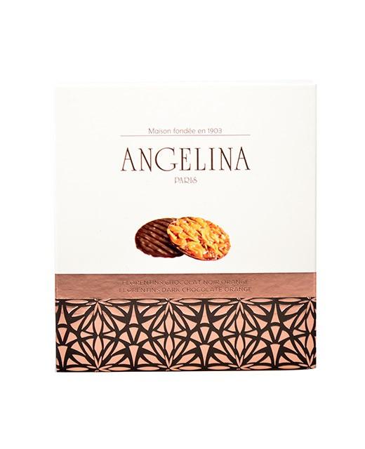 Florentins al cioccolato fondente e all'arancia - Angelina