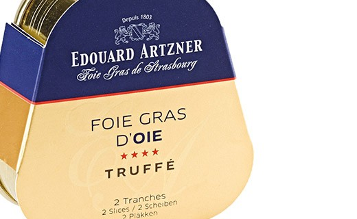Foie gras d'oca tartufato 75g  - Edouard Artzner