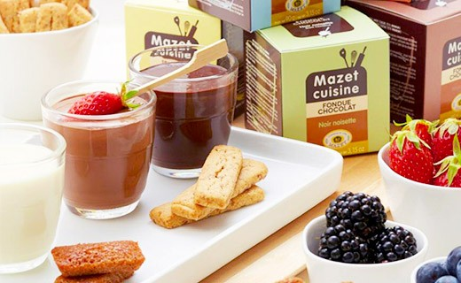 Fonduta al cioccolato - Fondente Amaro - Mazet