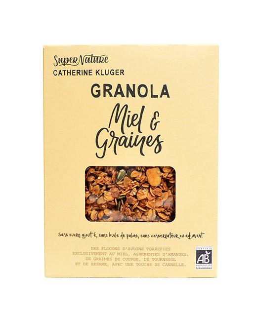 Granola miele semi bio - Catherine Kluger