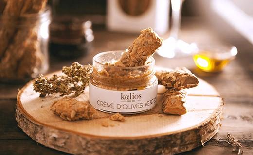 Grissini Cretesi - olive di Kalamata & fiocchi d'avena - Kalios