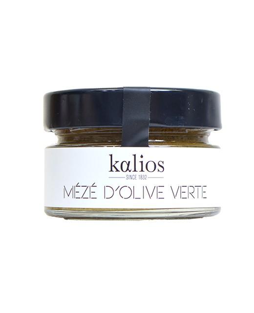 Meze di olive verdi