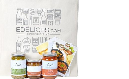 Kit da cucina : Scalo a Nuova Dehli - Edélices