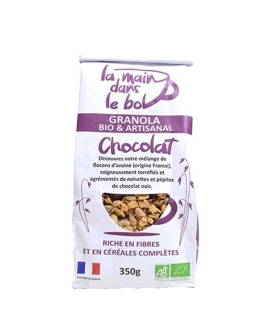 Granola bio - cioccolato - La Main dans le Bol