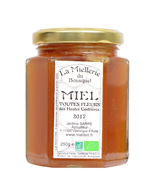 Miele di fiori - Miellerie du Bousquet