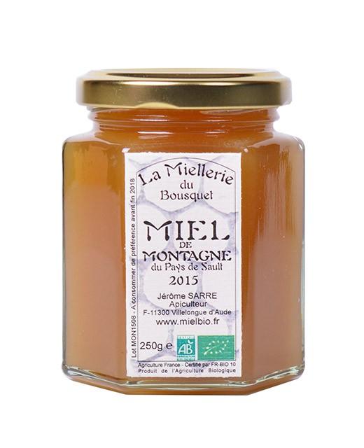 Miele di montagna bio - Miellerie du Bousquet