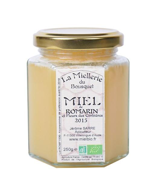 Miele di rosmarino  bio - Miellerie du Bousquet