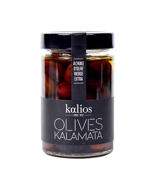 Olive Kalamata all'olio extravergine d'oliva