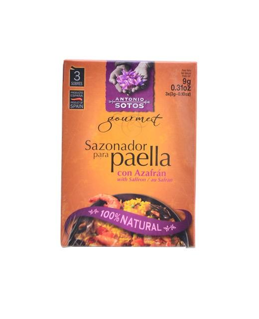 Mix di spezie per paella allo zafferano - Antonio Sotos