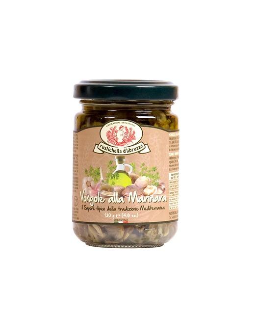 Vongole marinate all'olio di oliva