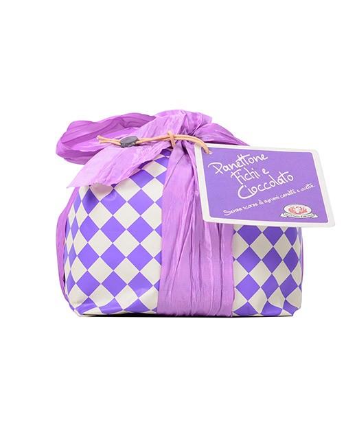 Panettone ai fichi e al cioccolato - Rustichella d'Abruzzo