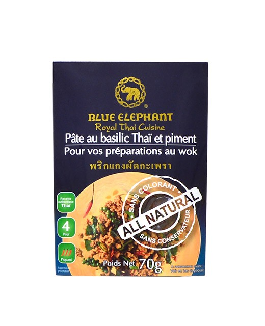 Pâte di basilico Taïlandese al peperoncino - Blue Elephant