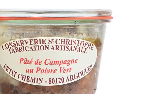 Patè di Campagna al Pepe Verde - Conserverie Saint-Christophe