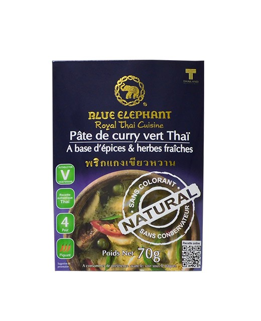 Crema al Curry Verde - Blue Elephant