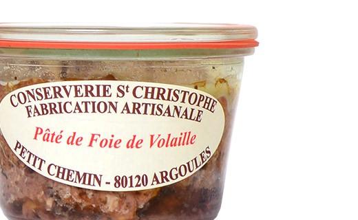 Pâté di foie di pollo - Conserverie Saint-Christophe