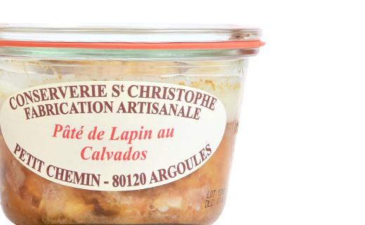 Patè di Coniglio al Calvados - Conserverie Saint-Christophe