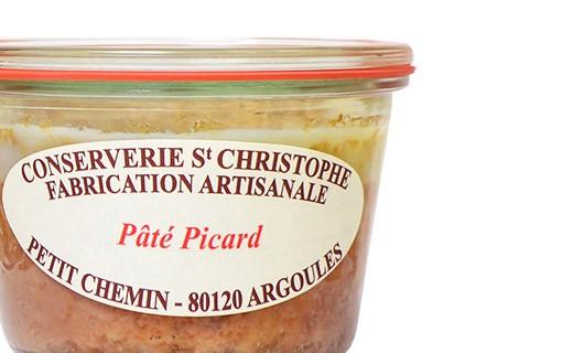 Paté piccardo - Conserverie Saint-Christophe