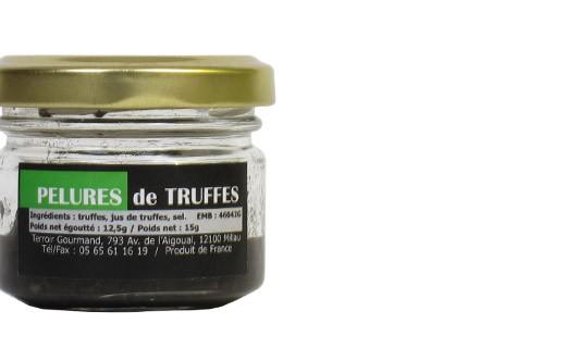 Buccia di tartufi neri - Truffe France