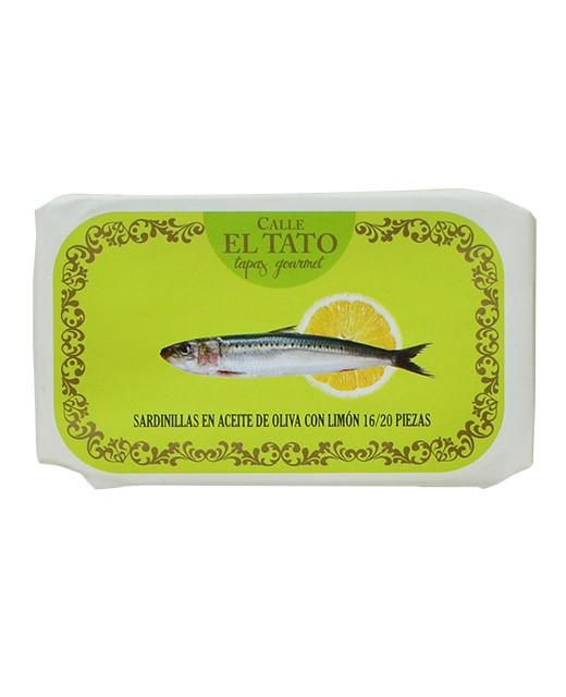 Sardine all'olio d'oliva e al limone - Calle el Tato
