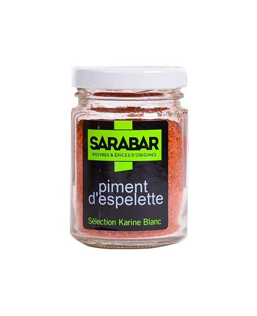 Polvere di peperoncino d'Espelette - Sarabar