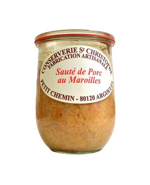 Piatto pronto:  Sauté di maiale al Maroilles - Conserverie Saint-Christophe