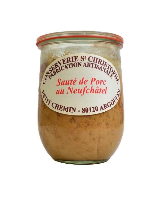 Piatto pronto: Sauté di maiale al Neufchâtel - Conserverie Saint-Christophe