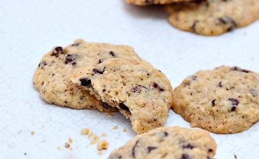 Preparazione bio per Cookie alle pepite di cioccolato e sesamo - Marlette