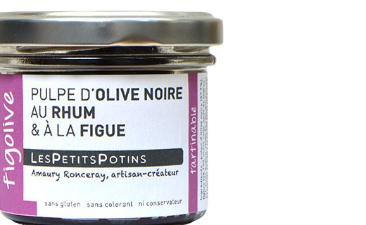 Polpa di olive nere, Rum e fichi - Les Petits Potins