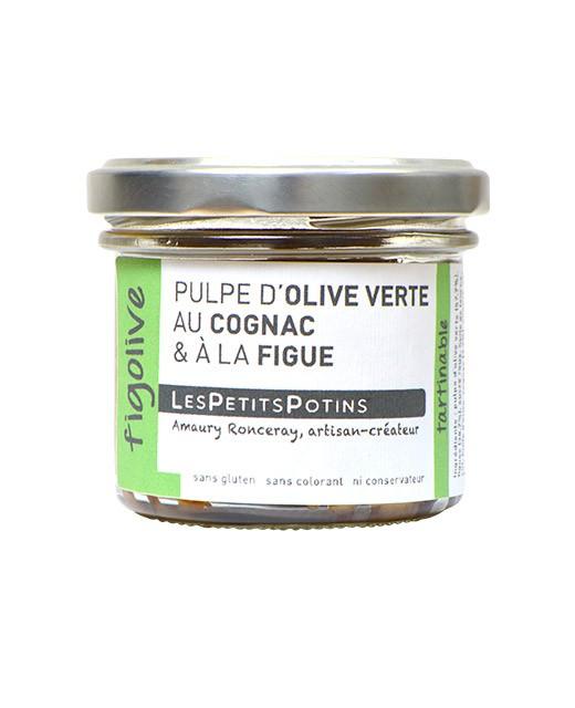 Polpa di olive verdi al Cognac e al fico