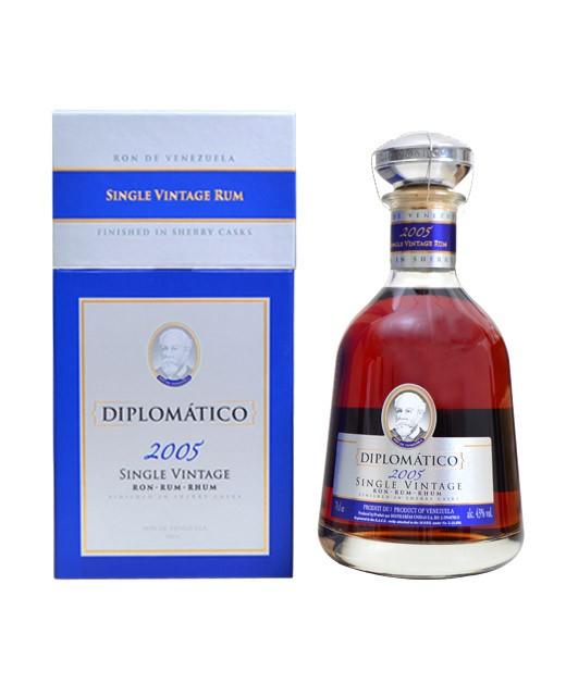 Rum Diplomatico - Single Vintage 2005 - Diplomatico