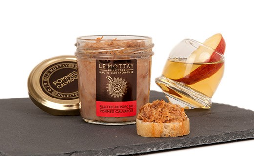 Rillettes di maiale bio alla mela e Calvados - Mottay Gourmand (Le)