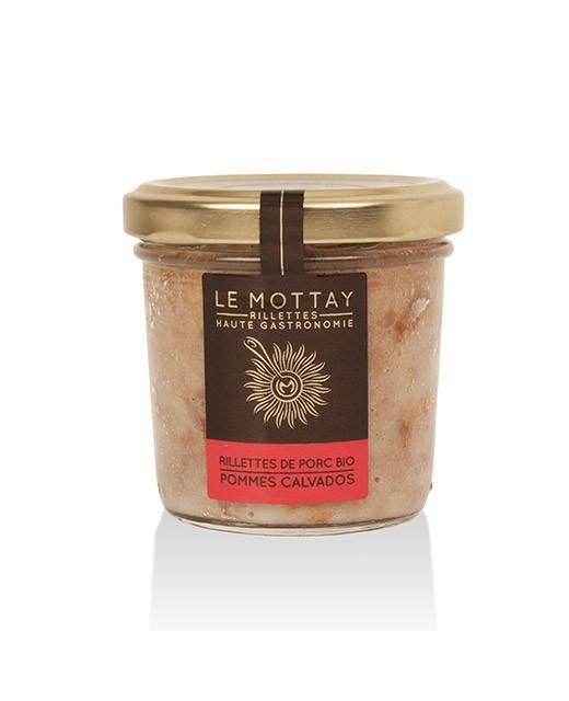 Rillettes di maiale bio alla mela e Calvados - Le Mottay Gourmand